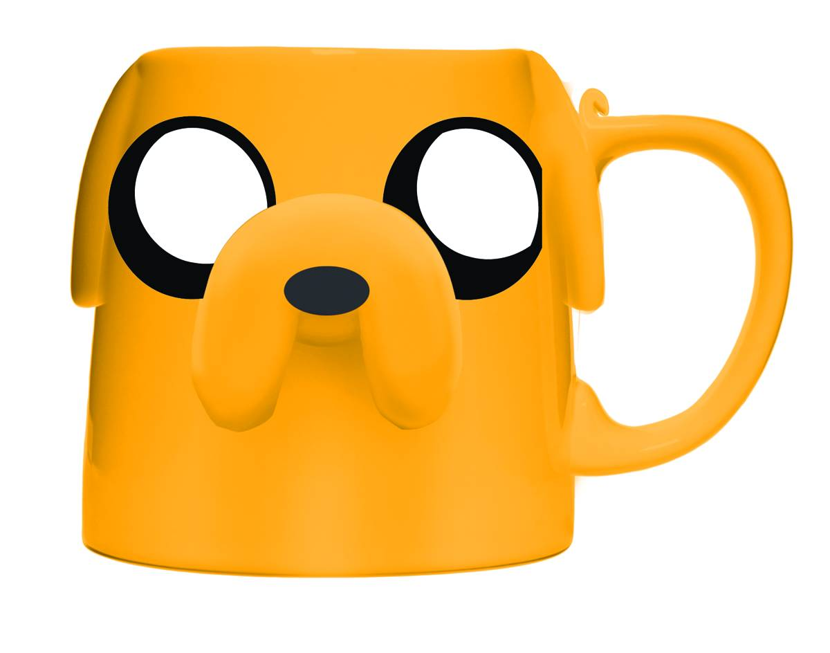 the house of fun other stuff adventure time jake the dog molded mug