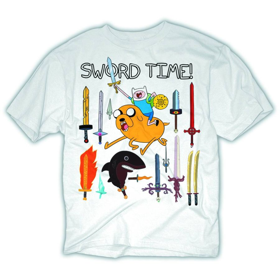 The House Of Fun T Shirts Adventure Time Sword Time T Shirt