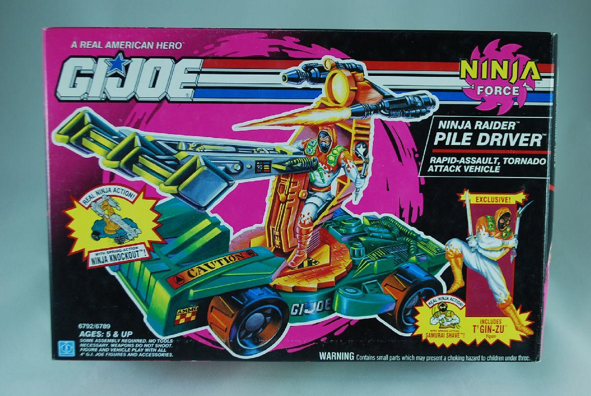 GI Joe Ninja Force Ninja Raider Pile Driver