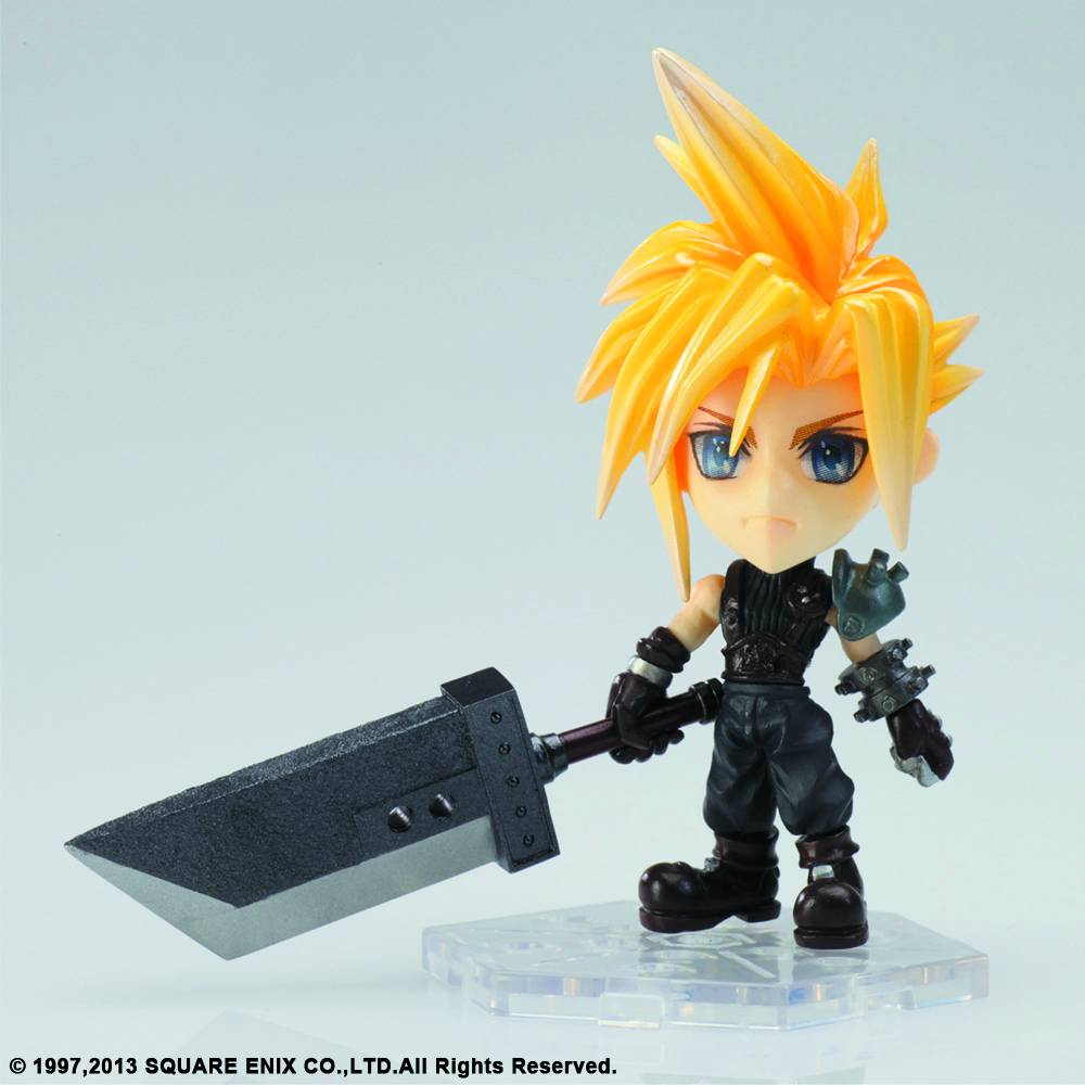 the house of fun action figures final fantasy mini cloud strife