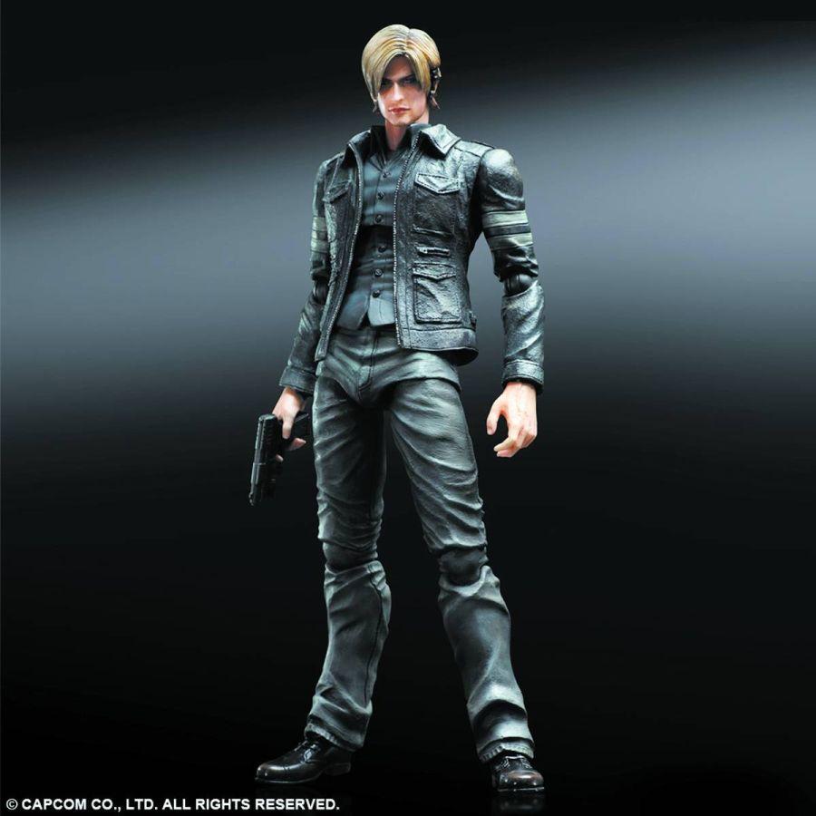 The House Of Fun Action Figures Resident Evil Leon Kennedy Kai