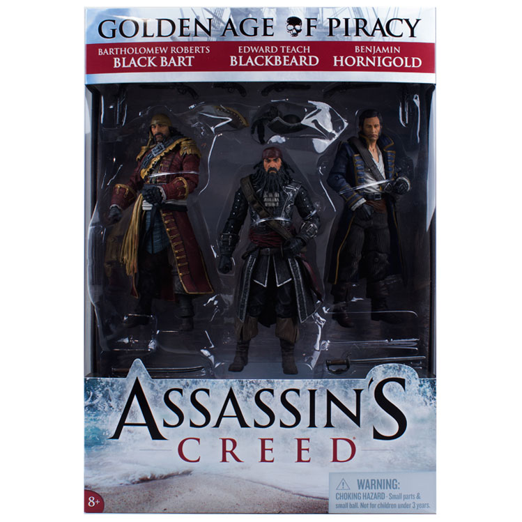 Assassin's Creed Golden Age of Piracy 3 Pack