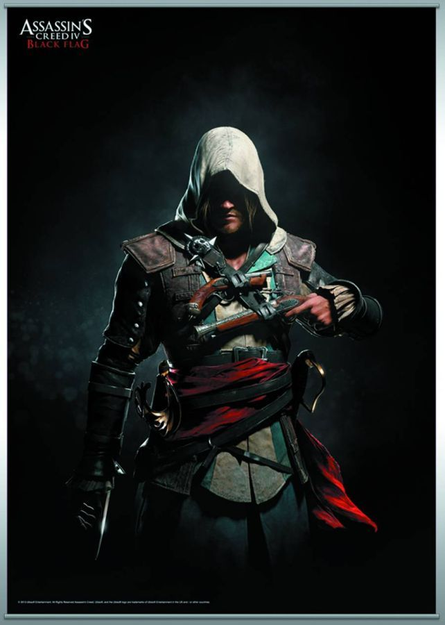 Assassin's Creed 4 Black Flag Vol 1 Wall Scroll