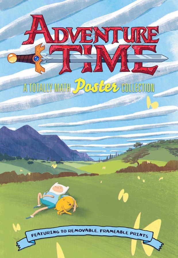 Adventure Time Totally Math Poster Collection Book