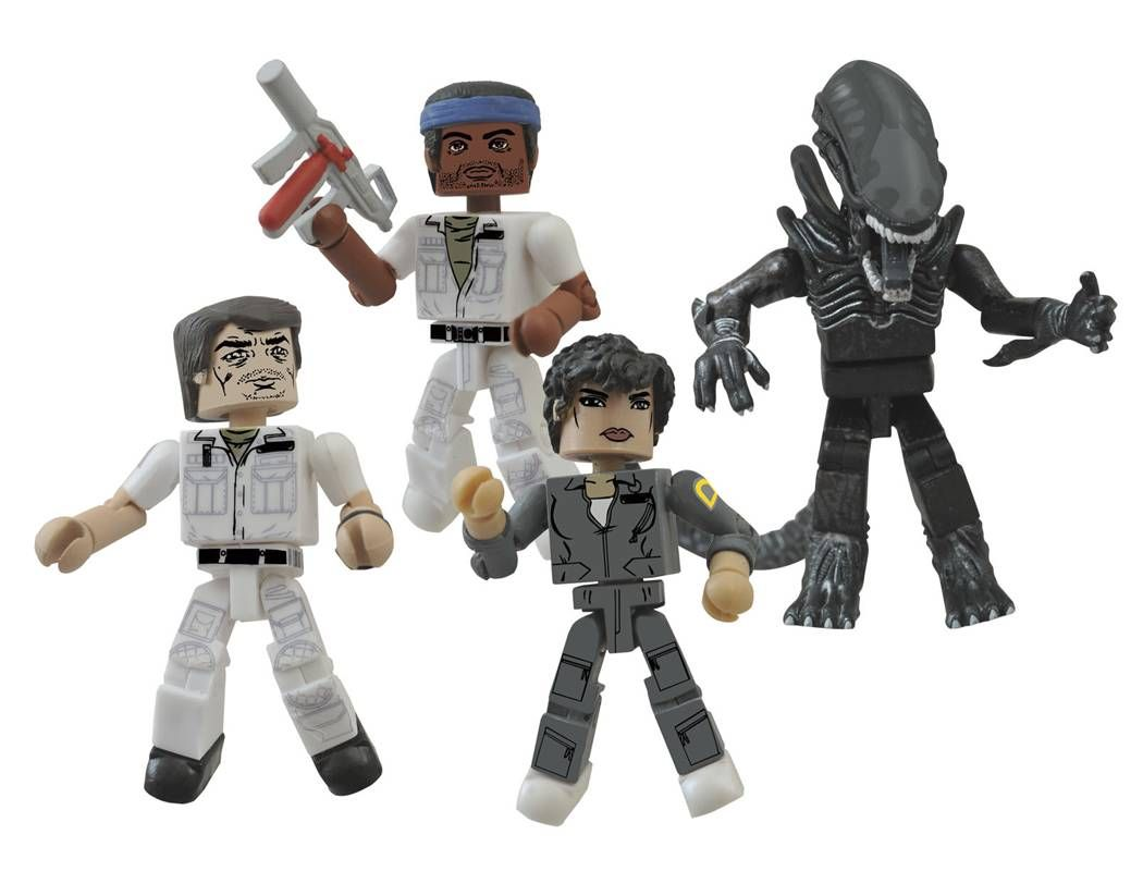 Aliens 35th Anniversary Minimates Set