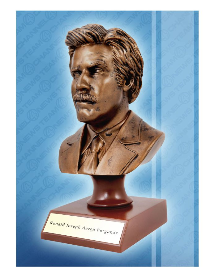 "Anchorman Ron Burgundy 7"" Resin Bust"