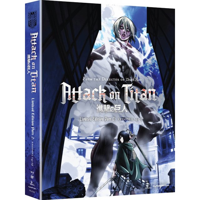 Attack on Titan Limited Edition Blu-Ray DVD Set Pt 2