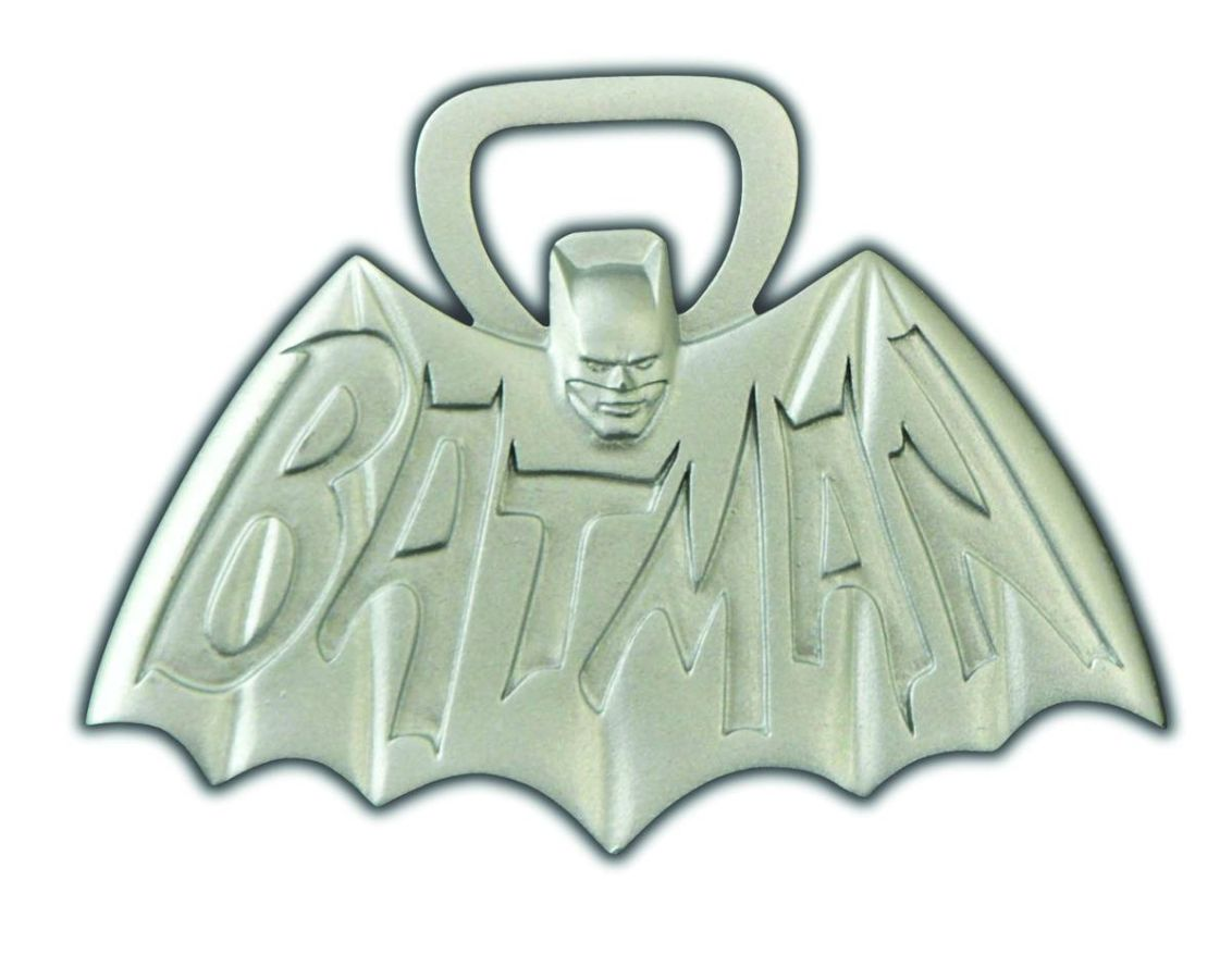 Batman 1966 Logo Bottle Opener