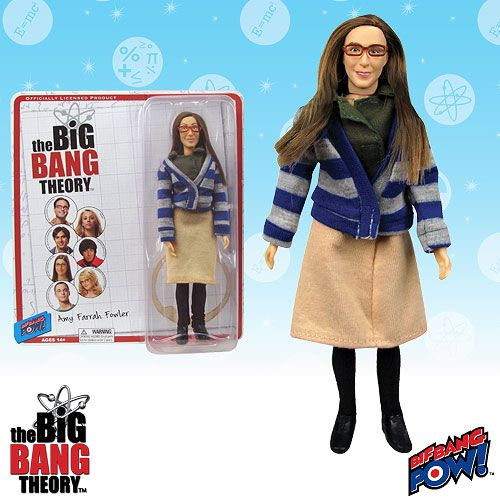Big Bang Theory Amy Retro 8 Inch Figure
