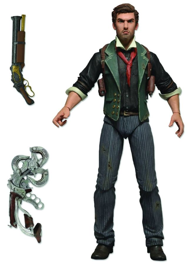 Bioshock Booker Figure