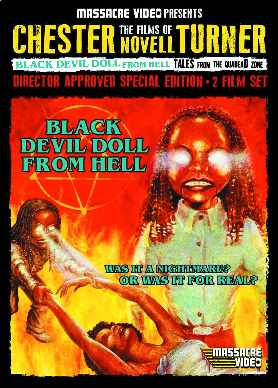 Black Devil Doll From Hell / Tales from the Quadzone DVD Set