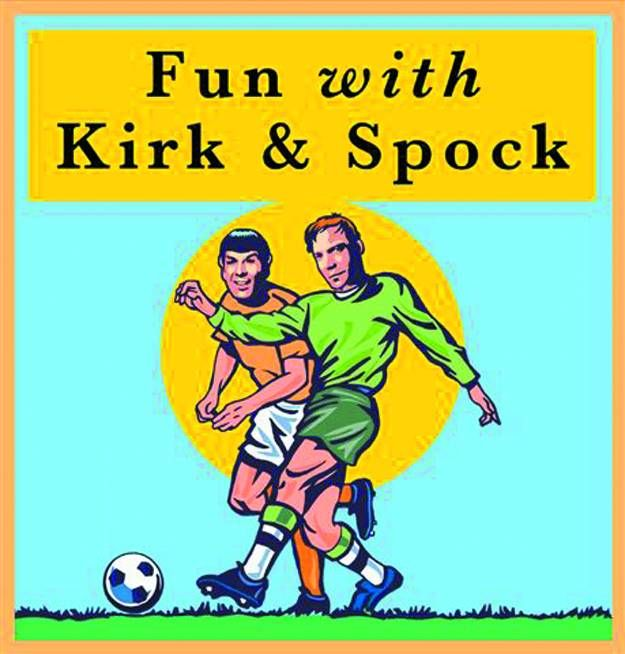 Fun with Kirk & Spock HC Book Star Trek