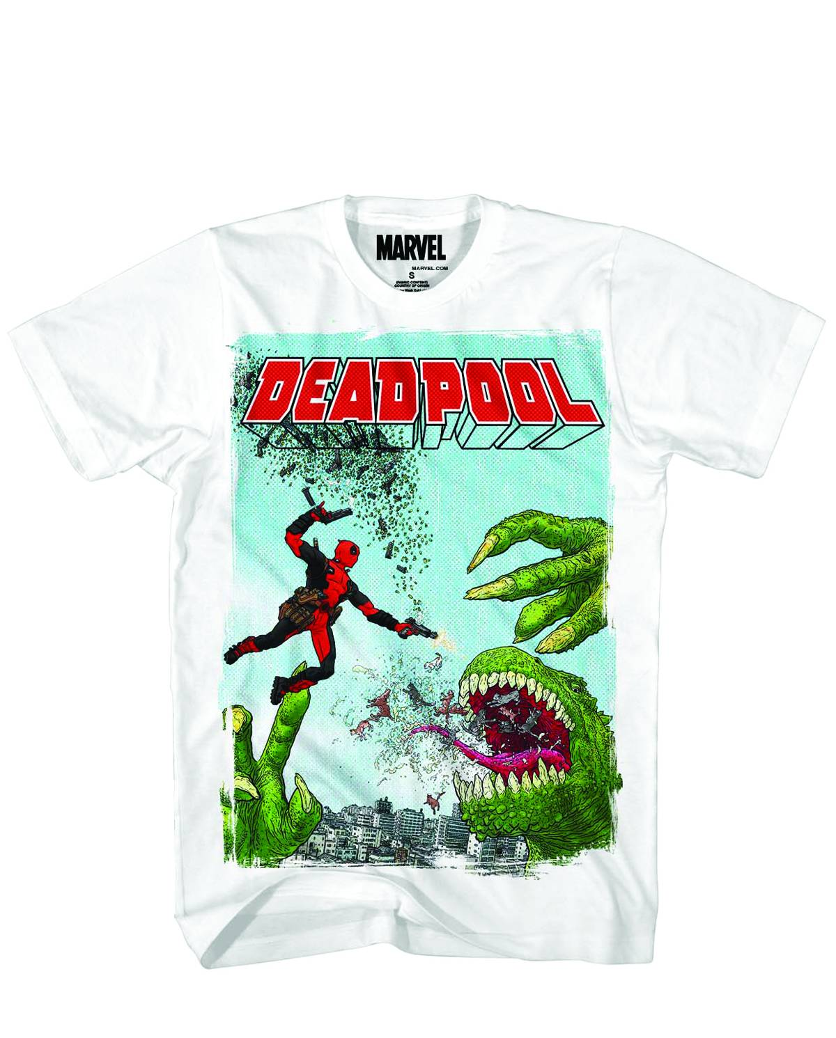 Deadpool Rex Marvel T-Shirt