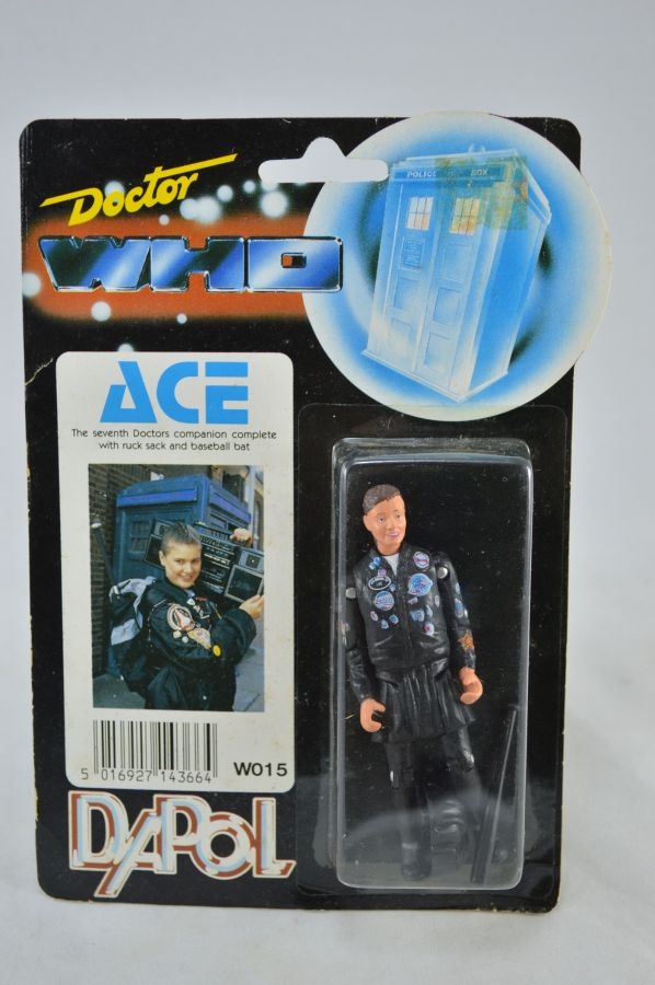 Vintage Doctor Who Ace Figure