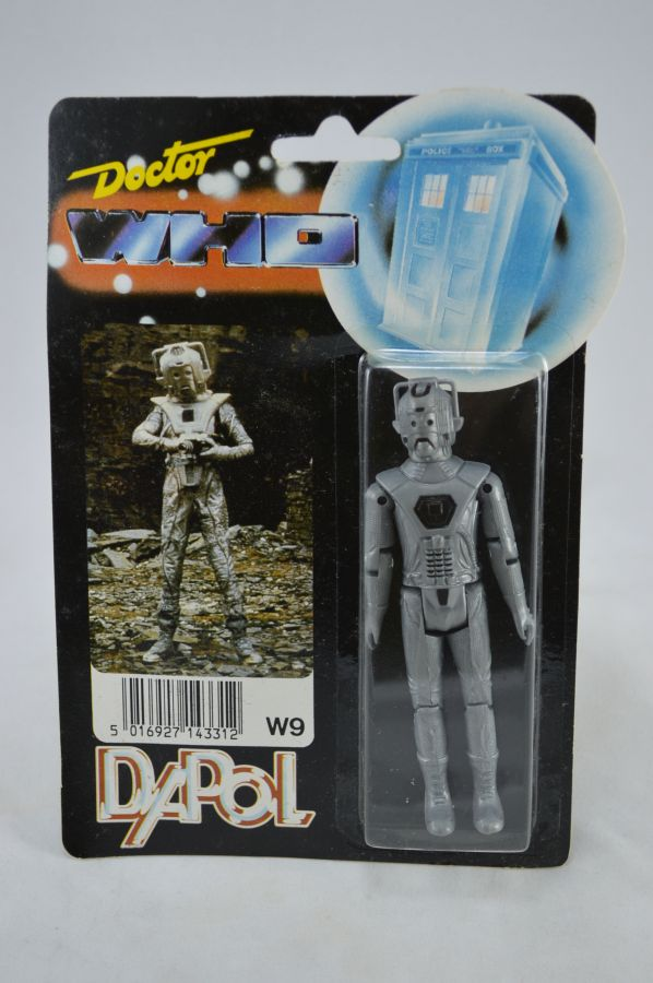 Vintage Doctor Who Cyberman Figure