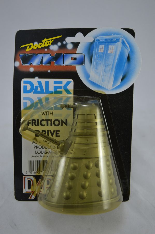 Vintage Doctor Who Dalek Gold Version Figure