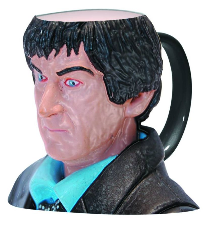 Doctor Who 2nd Doctor Figural Mug