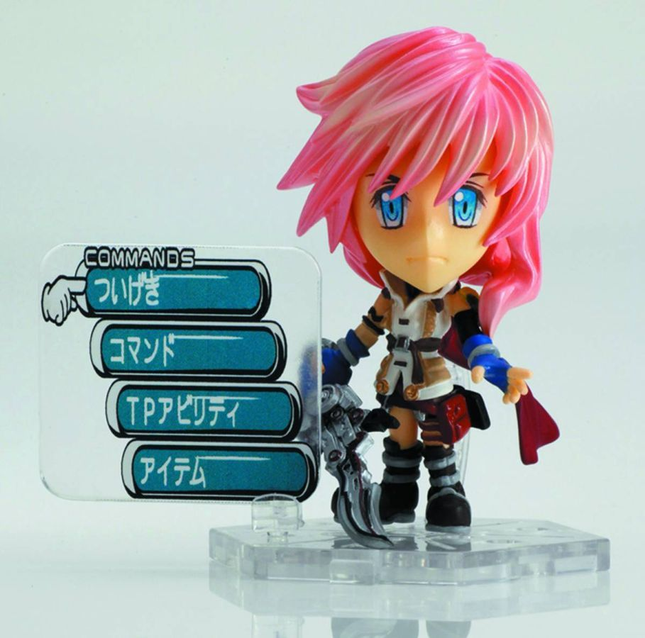 Final Fantasy Mini Lightning Figure