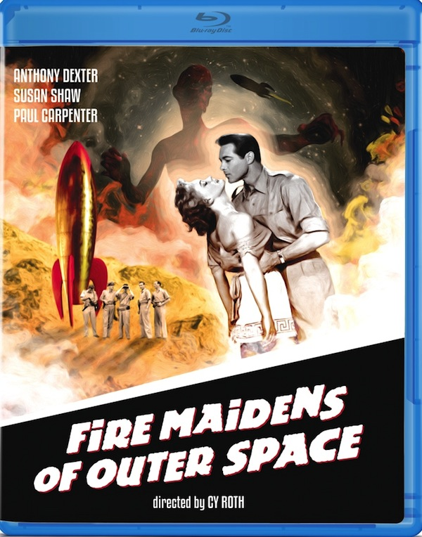 Fire Maidens of Outer Space Blu-Ray