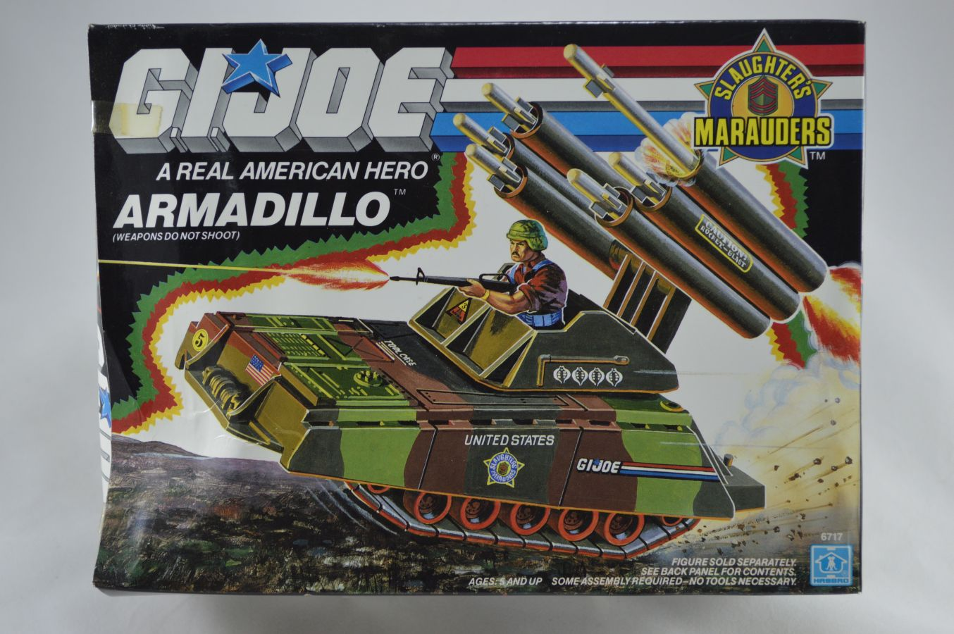 GI Joe Armadillo Vehicle MIB Vintage