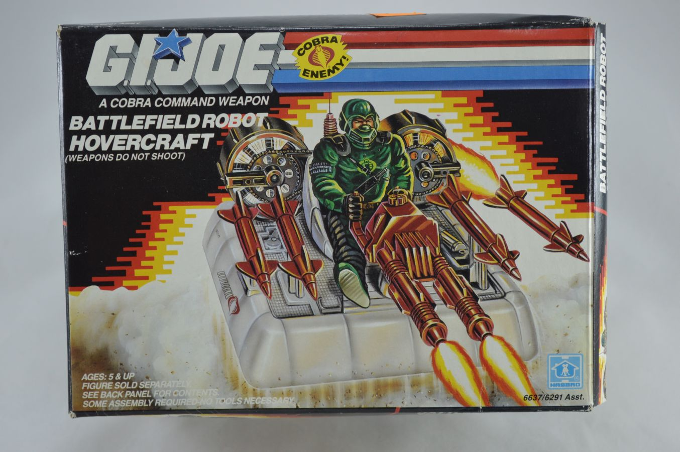 GI Joe Battlefield Robot Hovercraft Vehicle MIB Vintage