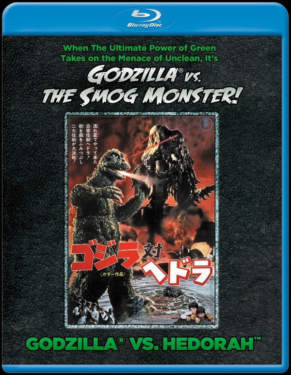 Godzilla vs. The Somg Monster, Hedorah Blu-Ray