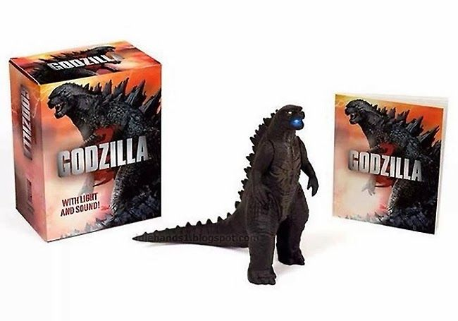 Godzilla Light & Sound Miniature Book Kit