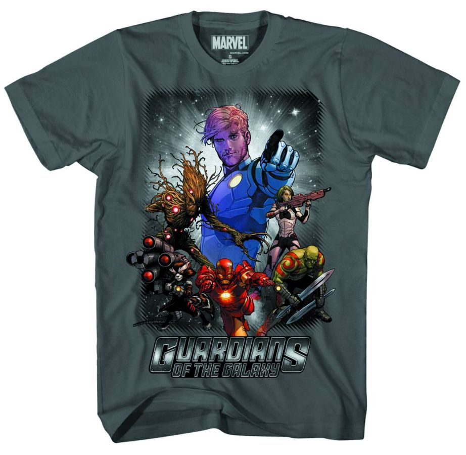 Guardians of the Galaxy Space Police T-Shirt