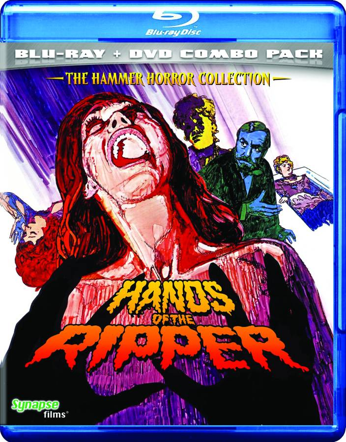 Hands of the Ripper Blu-Ray