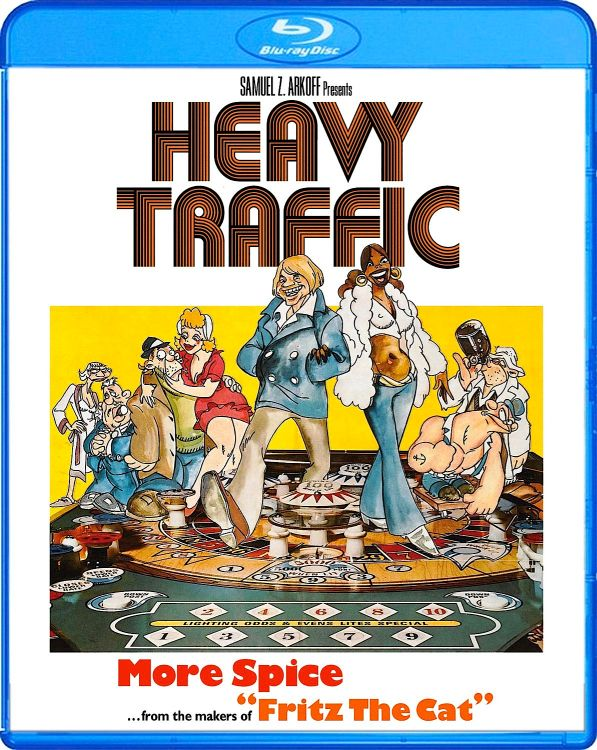 Heavy Traffic Blu-Ray