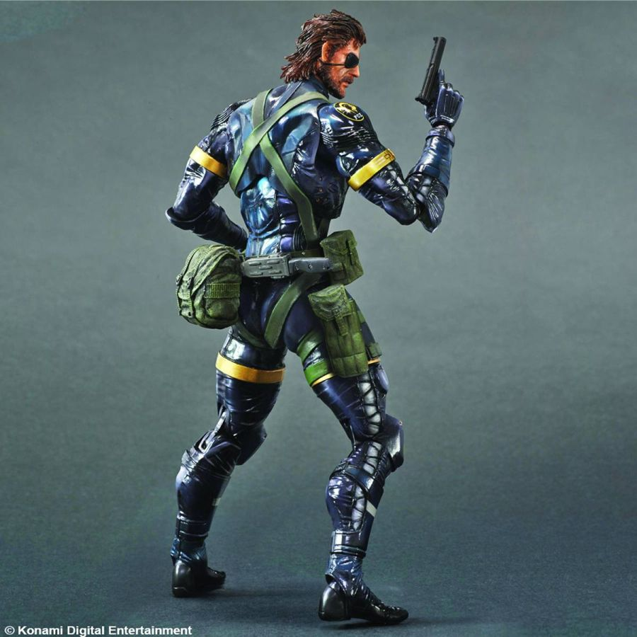 Metal Gear Solid 5 Ground Zero Snake Kai Figure