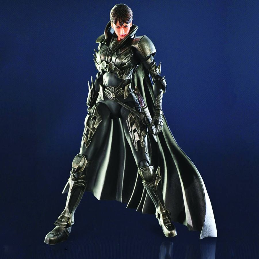 Superman Man of Steel Faora-Ul Kai Figure