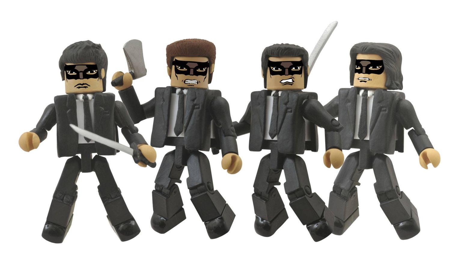 Kill Bill Crazy 88's Minimates Box Set