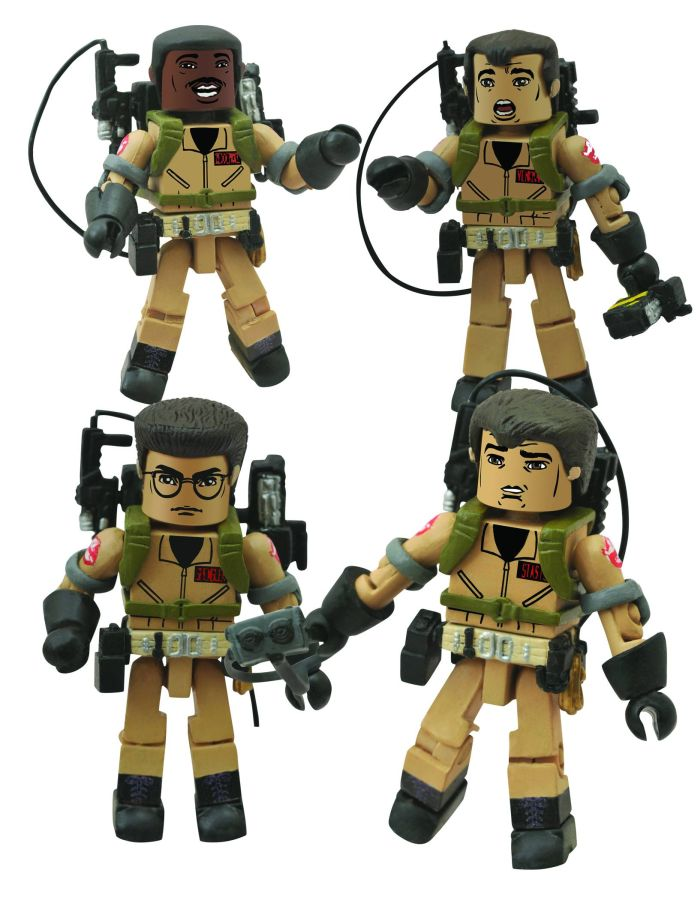 Ghostbusters I Love This Town Minimates