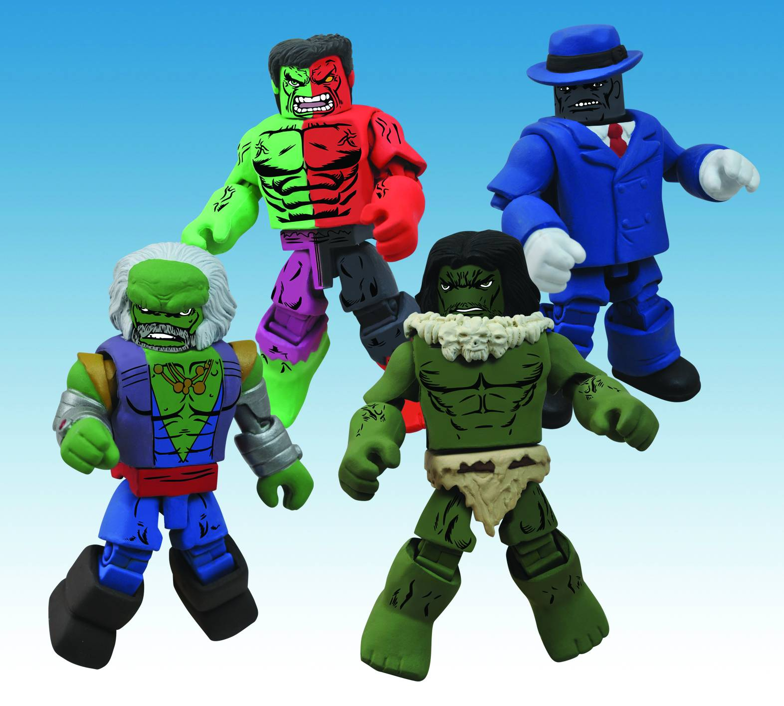 Minimates Hulk Through The Ages