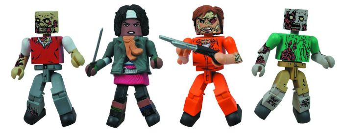 Walking Dead Minimates Prison Outbreak Set