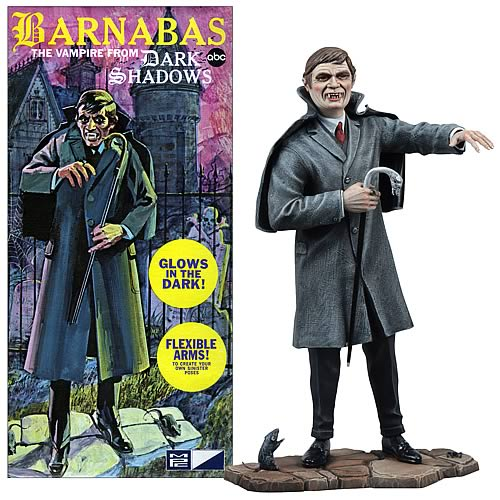 Dark Shadows Barnabas Model Kit