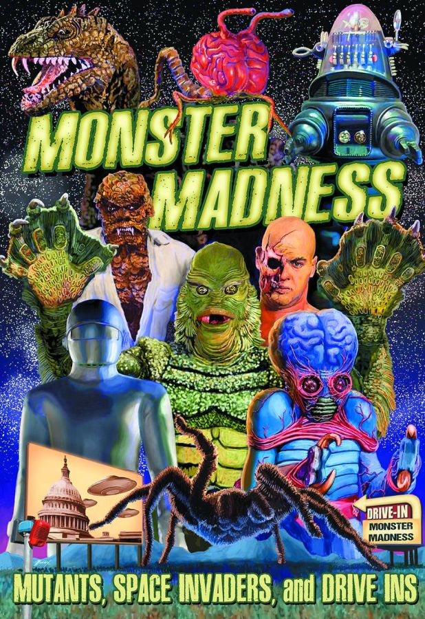 Monster Madness Mutants, Space Invaders and Drive-Ins DVD