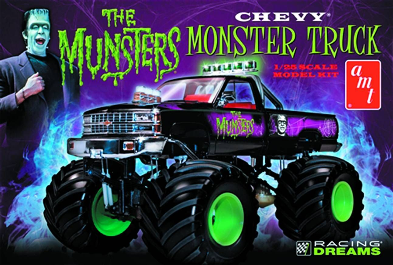 Munsters Chevy Monster Truck Model Kit