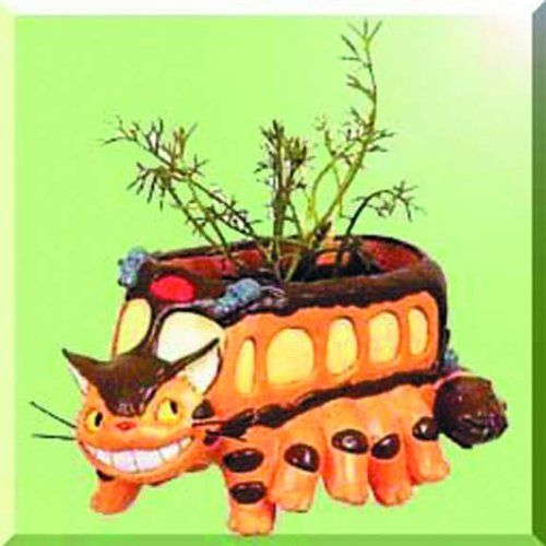 My Neighbor Totoro Running Catbus Planter