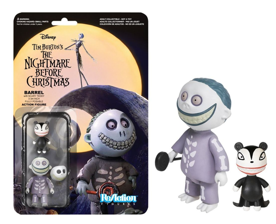 Nightmare Before Christmas Barrel ReAction Figure