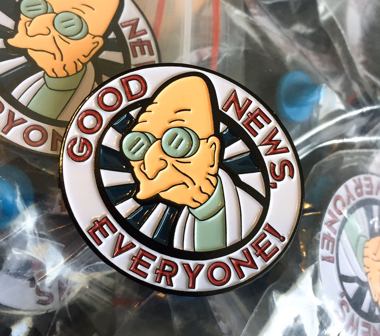 Futurama Professor Farnsworth Pin