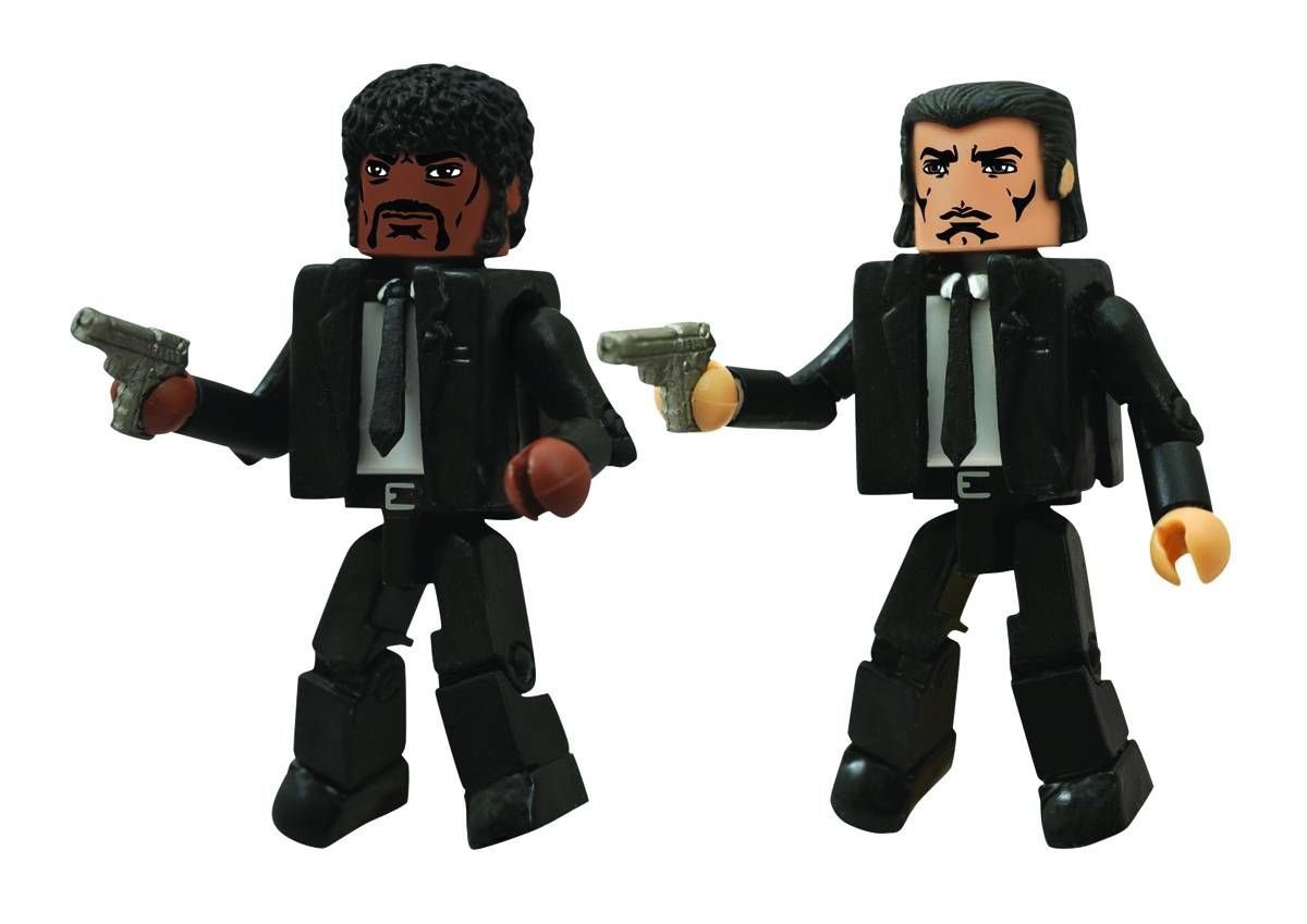 Pulp Fiction Jules and Vincent Minimates 2 Pack