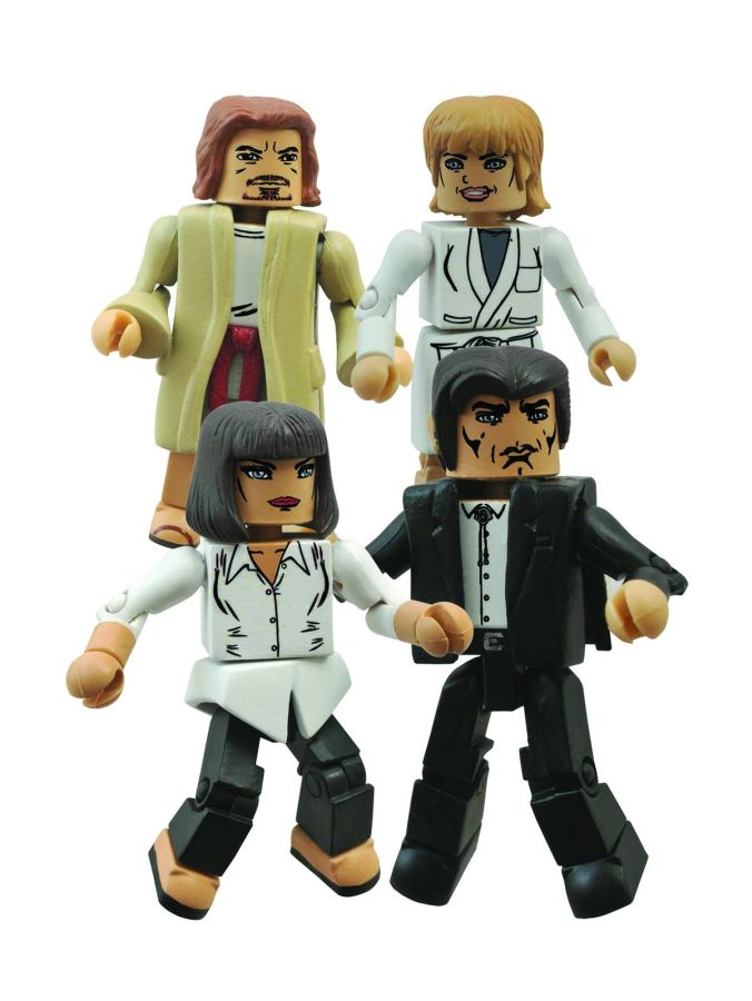 Pulp Fiction Mia's Night Out Minimates Set