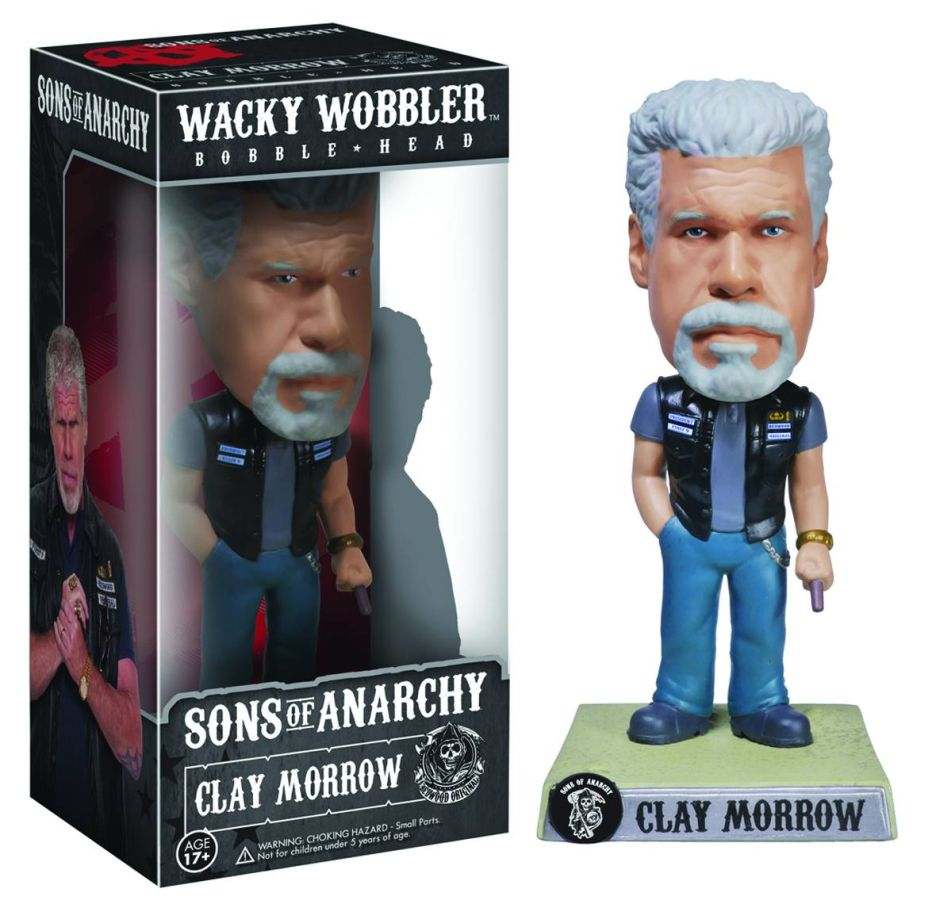 Sons of Anarchy Clay Morrow Wacky Wobbler