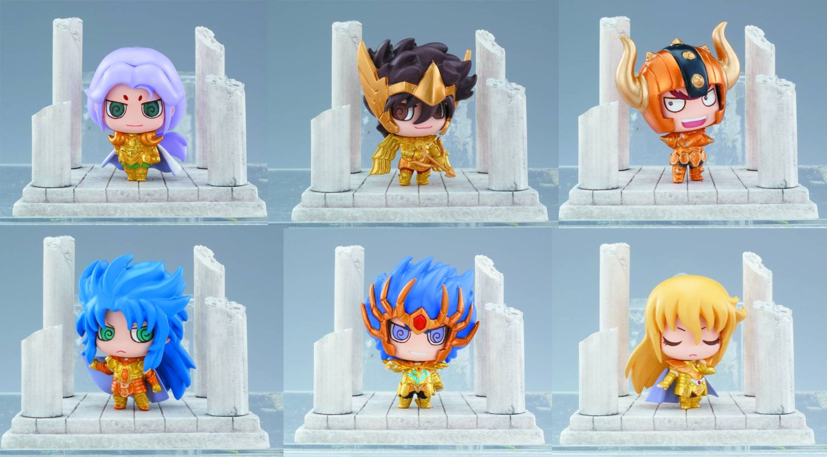 Saint Seiya Petit Chara Land Figure Series 1