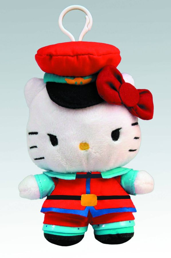 Sanrio x Street Fighter M. Bison Clip On Coin Purse