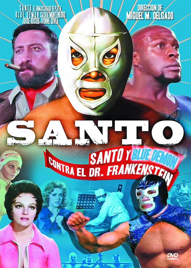 Santo and the Blue Demon vs Dr. Frankenstein DVD
