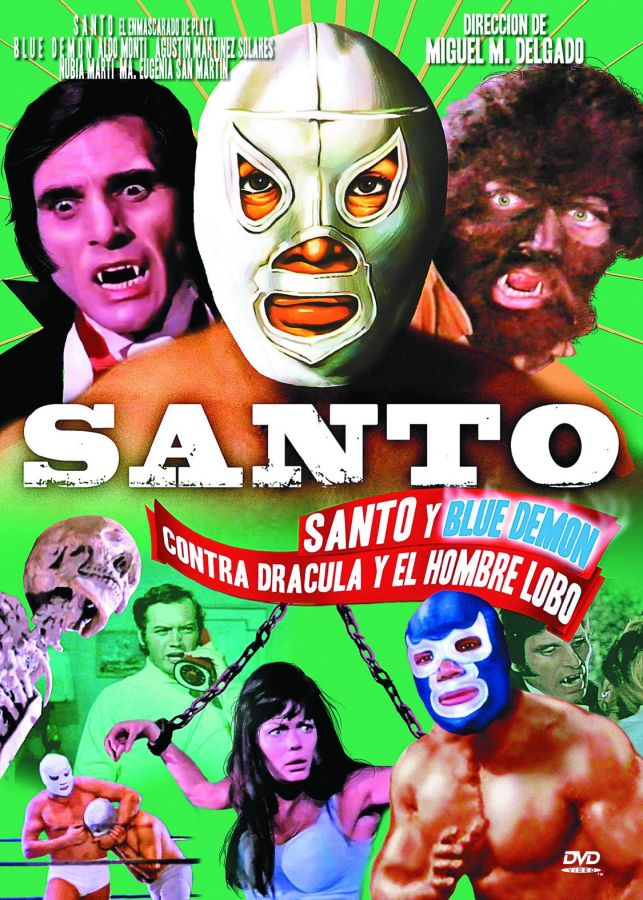 Santo and Blue Demon vs Dracula and Wolfman