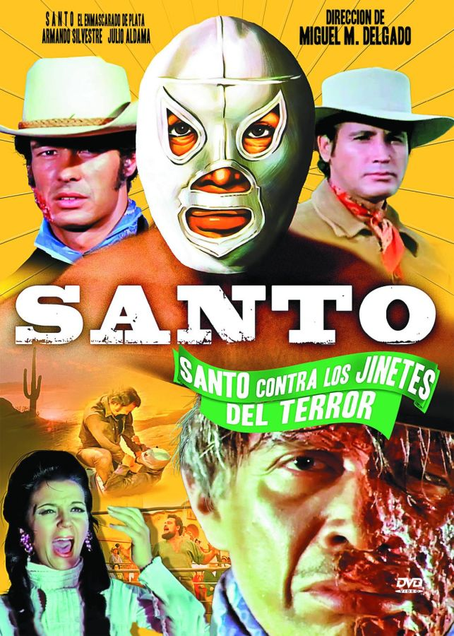 Santo vs Ther Riders of the Terror DVD